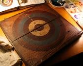 Dart Board Barnwood Art