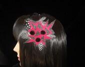 One of a Kind Headband / Barrette / Choker 10