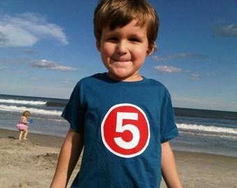Superhero Birthday Shirt Boys Tshirt for Cape or Super Hero Birthday Party little man crime fighter villians number birthday shirt 1 2 3 4 5