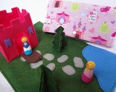 Princess Castle Travel Play Mat for On-The-Go