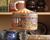 Churchill's Carousel Toffee Tin - Vintage and excellent condition