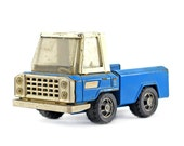 Buddy L Pickup Truck: Vintage Toy Truck - Blue, Fathers Day, Metal Truck