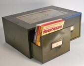 Green Card Catalog - Box - Desk File