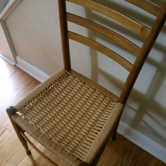 Wood & Woven Chair