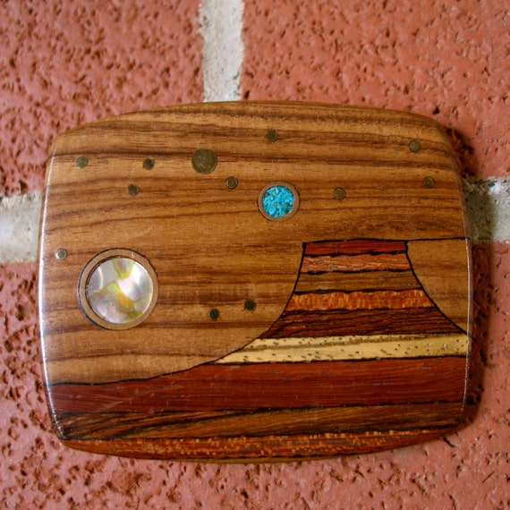 Awesome Wood & Stone Buckle