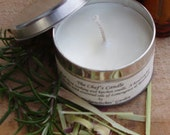 The Chef's Tin - Soy wax candle by The Hedgewitches Garden