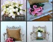 Shabby Chic Over-sized Chair