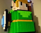 8-Bit Pc Case of Link, Black Mage or White Mage  (Read description for new custom designs)