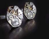 CUFFLINKS  cuff links - watch - mens jewelry - by LC Collection
