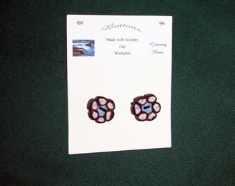 Beautiful Blue Buttons