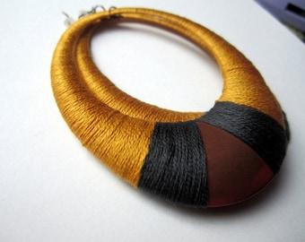 Wrapped Hoop Earring in India