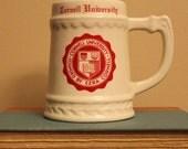 Vintage Cornell Beer Mug