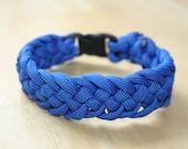 Bright Blue Cord Bracelet