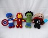 Avengers Amigurumi Pattern PDF