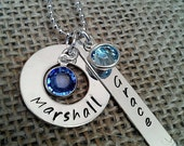 Personalized Mother Necklace, Grandma Necklace, Mom Necklace, Kids Names Necklace