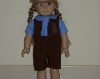 American girl doll brownie uniform