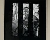 Gears (II) - Custom Pinhole on Bamboo Paper