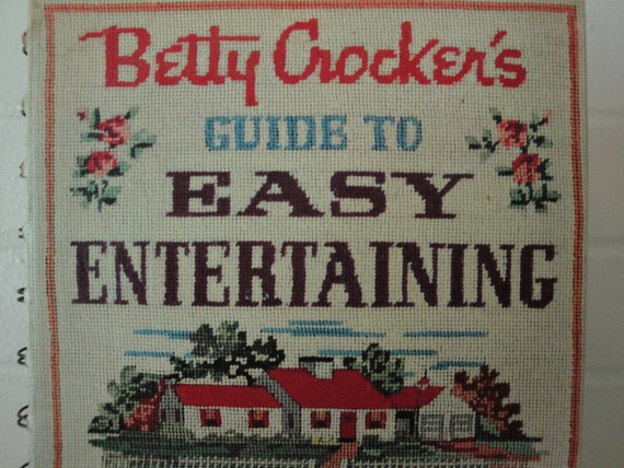 Betty Crocker's Guide To Easy Entertaining Vintage Cook Book Guide Book 1959