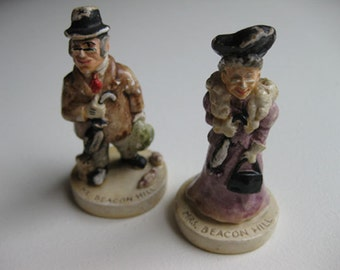 Mr. & Mrs. Beacon Hill vintage collectables from 1947 Boston