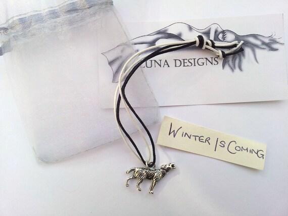 Winter Is Coming  Game of Thrones  House Stark bracelet
