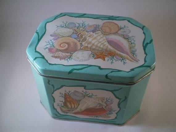 Seashell Tin