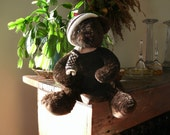 Old Chocolate Bear by RICH