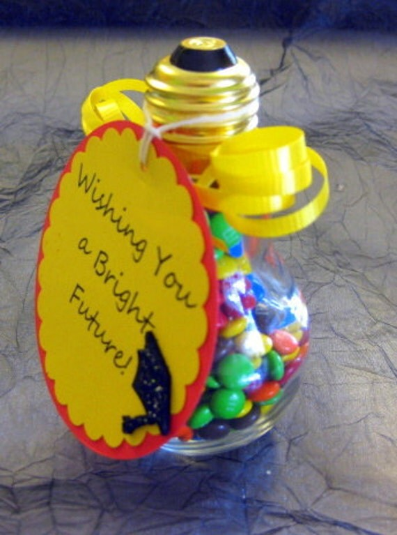 1 Light Bulb Jar Graduation Gift BRIGHT FUTURE