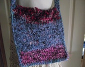 Yarn Stash Buster Beginner Crochet Purse Crochet Pattern Easy Crochet  Bag PDF Downloadable