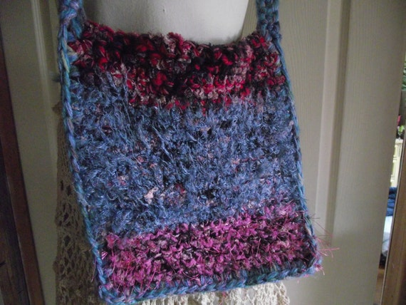 Easy Crochet Purse Patterns For Beginners : Crochet Pattern Easy Crochet Pattern Crochet Bag
