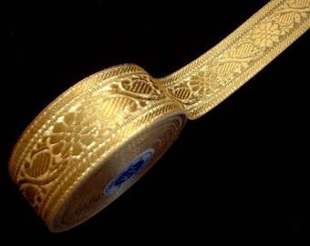 Gold Metallic Ribbon Trim