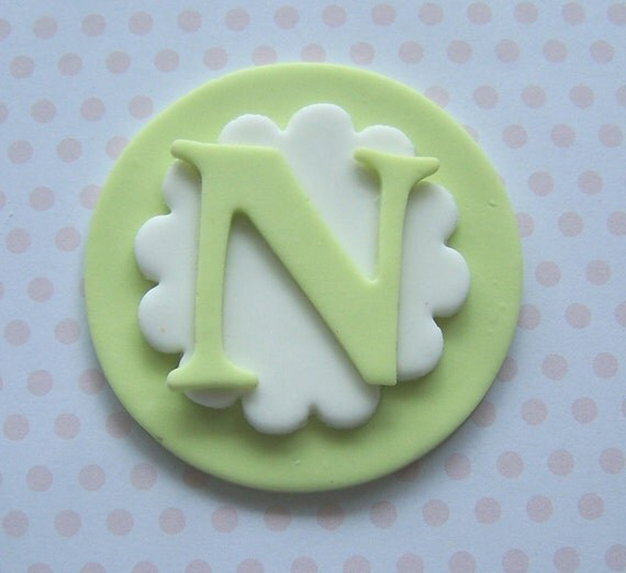 Packing Letter Cake Toppers