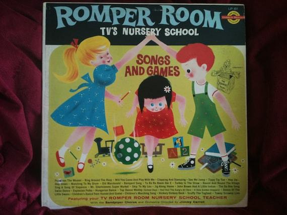 Romper Room Tv S Nursery School Music Kids Album