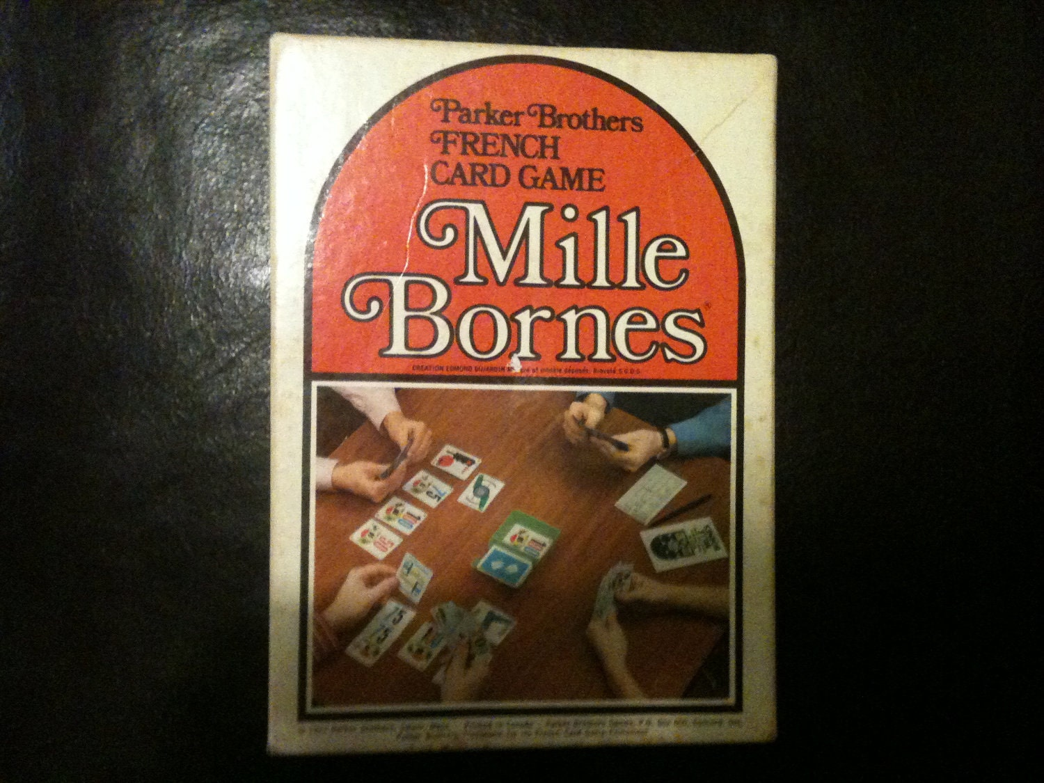 Mille bornes 1971 french card game by parker brothers kids - Coup fourre mille bornes ...