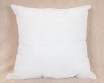 26x26 Pillow Form Insert for Craft / Throw Pillow Shams