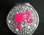 Barbie inspired Circle Mirror