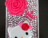 Pink Hello Kitty Inspired Cigarette Case/ ID Holder