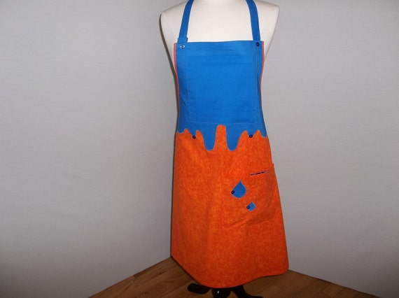 Complementary Colors Artist Apron  O.O.A.K.