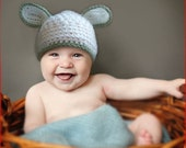 Very Cute Handmade Crochet Baby Hat  - (size - 6-12 months) FREE SHIPPING