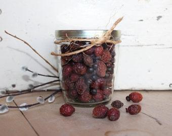 Jelly Jars Set of Three Vintage