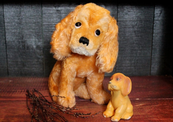"Steiff ""Susi"" 1950's Cocker Spaniel Dog"