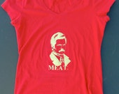Ron Swanson MEAT tshirt (Woman's small)