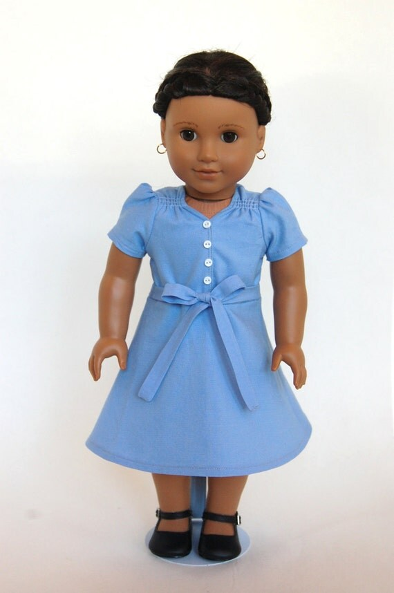 Depression Era Hunger Games Katniss 18 inch American Girl Doll Dress