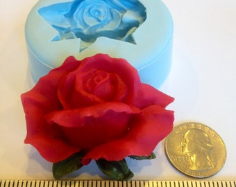 Rose Bud Silicone Molds (great for chocolate, fondant, gumpaste, candle, soap, resin & etc)