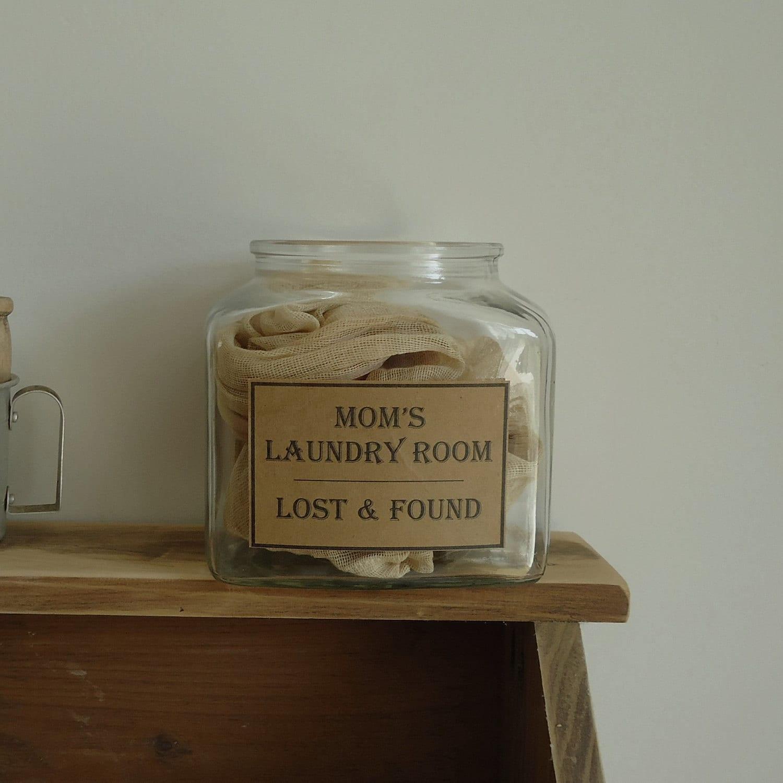 popular items laundry room decor. Laundry Room Decor Storage Jar By RaggedyRee On Etsy Popular Items D