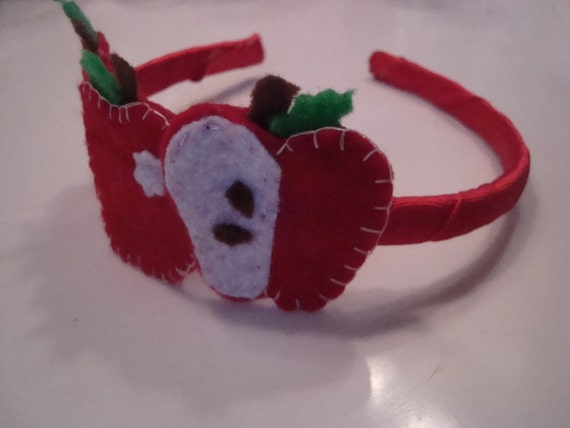 Apple time.... felt headband