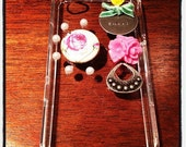 Shabby Chic Rose Clear iPhone Cover