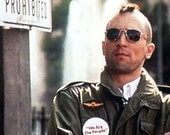 Used TAXI DRIVER Jacket just like Travis Bickle  (M65 Field Jacket)  Movie Costume.  Size Small Regular