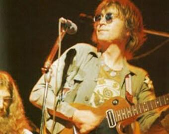 John Lennon Army Shirt.  Size Medium SHORT (15.5 X 31)