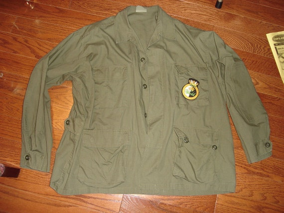 Reserved for Mike.  X-L Military Style Jacket  - Battle Dress Uniform (BDU)