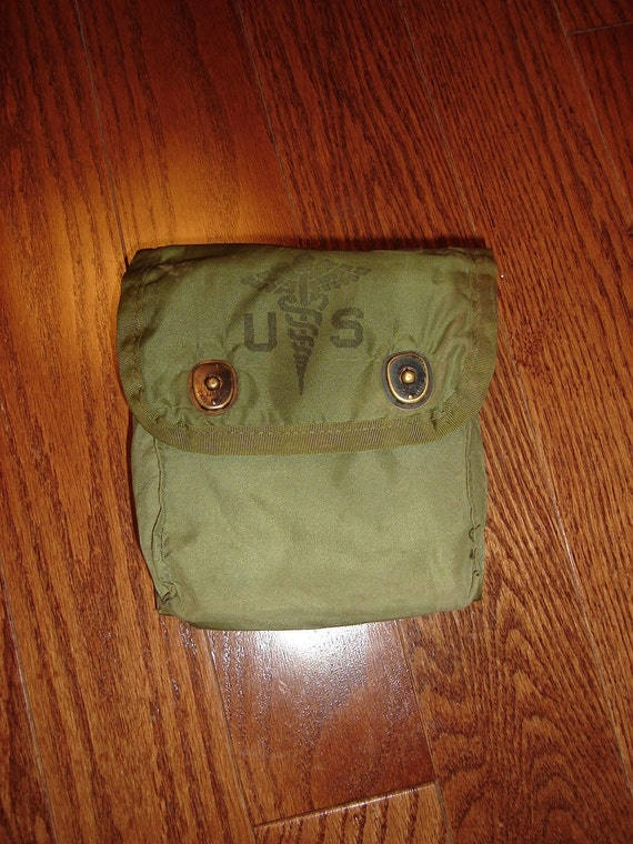 First Aid Kit Pouch, US Issue, 1980's Nylon ALICE gear